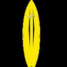 Kwad Surf top (yellow)